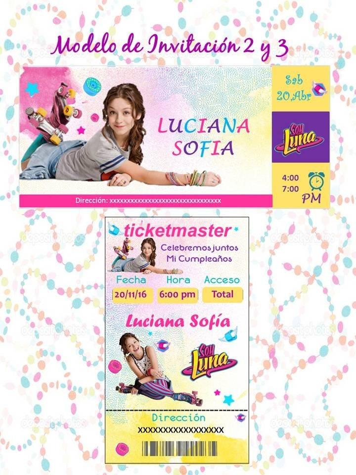 Kit Imprimible Soy Luna Para Fiesta Editable En Power Point