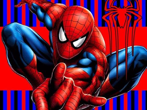 kit imprimible spiderman hombre araña candy bar
