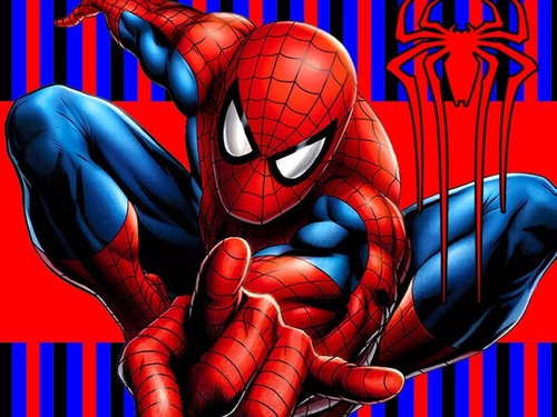 kit imprimible spiderman hombre araña candy bar golosinas