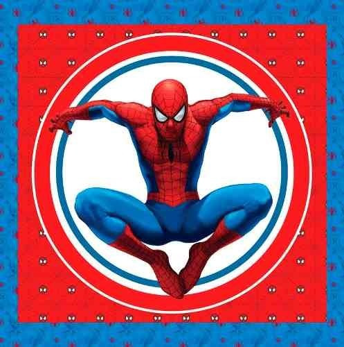 kit imprimible spiderman hombre araña personaliza candy bar