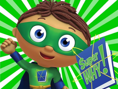 kit imprimible super why ! diseñá tarjetas cumples y mas