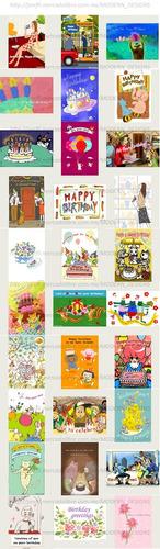 kit imprimible tarjetas artísticas felicitación regalos y+