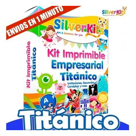 Kit Imprimible Titánico 2019 Con Calendarios Insuperable ! !