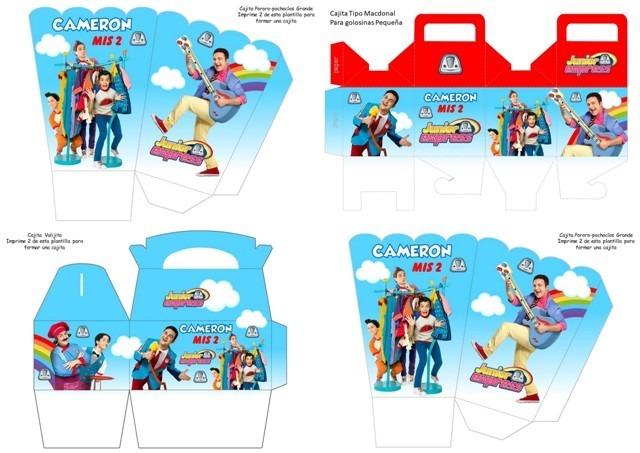 Kit Imprimible Topa + Personajes Del Junior Express Rulos - Bs. 20 ...