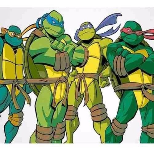 kit imprimible tortugas ninja diseñá tarjetas y candy bar