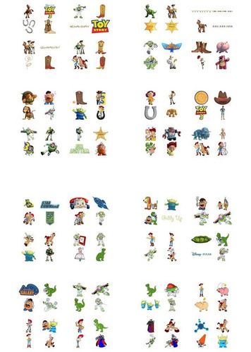 kit imprimible toy story fiesta 3x1