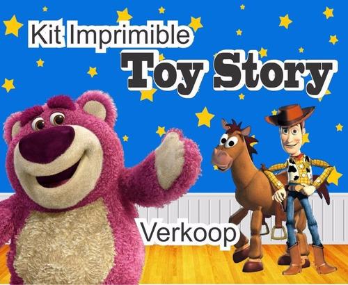 kit imprimible toy story invitaciones tarjetas marcos