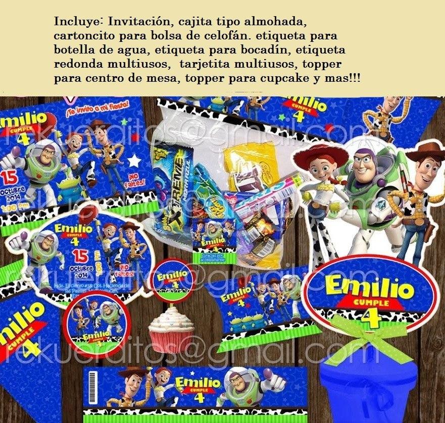 kit imprimible toy story woody buzz jessy etiquetas dulces. Cargando zoom. d2e19581a54
