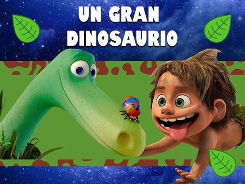 kit imprimible un gran dinosaurio diseña tarjetas y mas 2x1