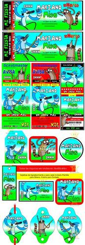 kit imprimible un show mas candy bar golosinas cumples y mas