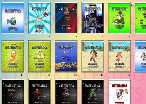 kit imprimible utiles escolares caratulas, etiquetas, reglas