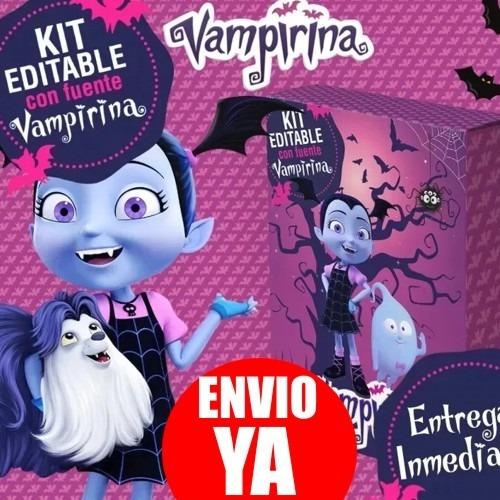 kit imprimible vampirina candy bar