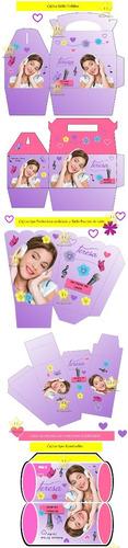 kit imprimible violetta de disney diseñá tarjetas, cumples