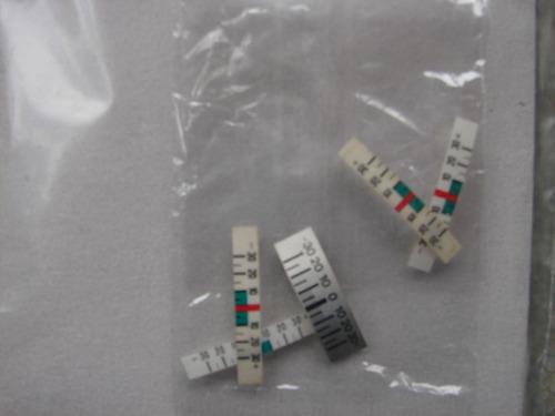 kit indicador plastico de rango de temperatura