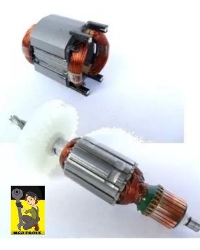kit induzido+bobina rolamentos martelete makita hr2470 110v