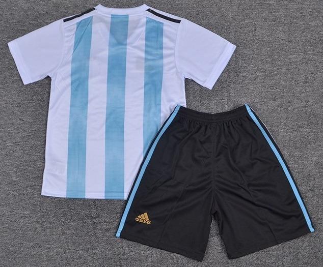 Kit Infantil Argentina - Messi aeb5a512f2e23