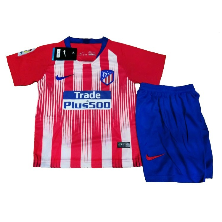 9d7973ef73 Kit Infantil Atlético Madrid - 2018 2019 - Frete Grátis - R  149