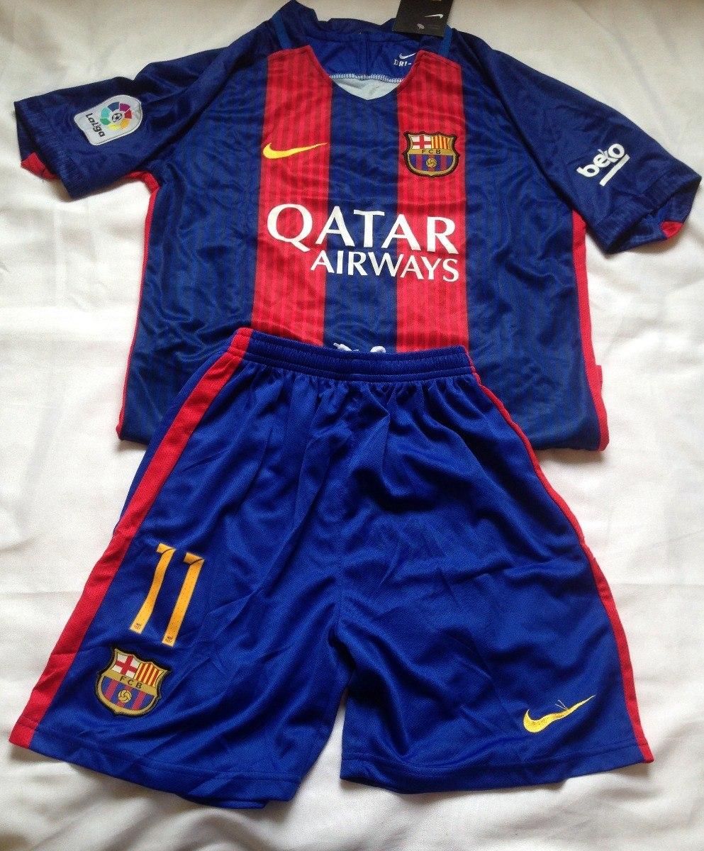 Kit Infantil Barça  11 Neymar Jr - 8 Anos - Pronta Entrega - R  119 ... 8a27664132f