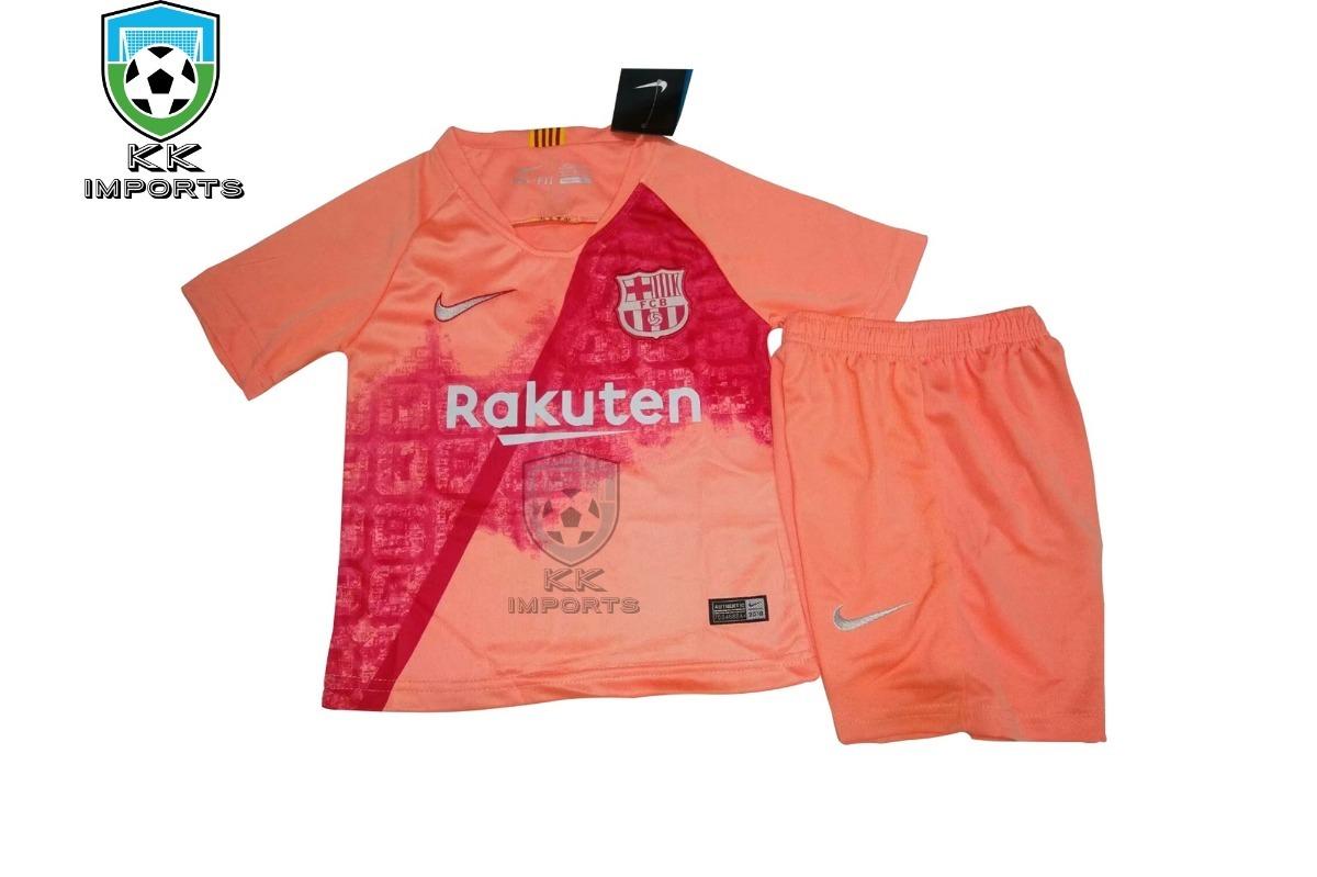 kit infantil barcelona 2018 2019 uniforme 3. Carregando zoom. f38e7c8f6fc21