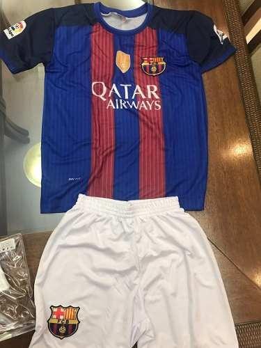 Kit Infantil Barcelona Neymar 11 Azul vermelho Camisa Calçao - R  55 ... 8cd3ae68d76f1