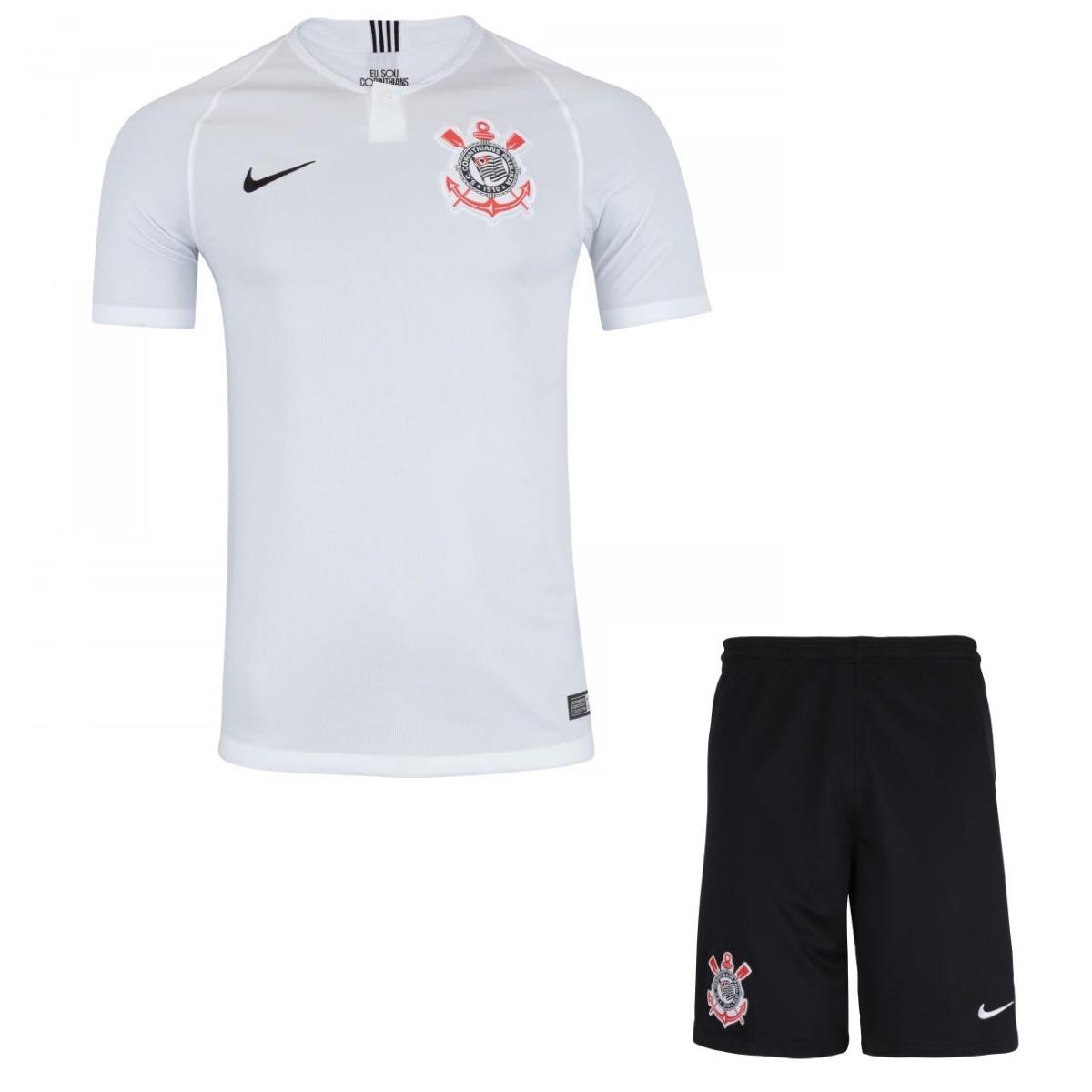 66b829d609695 kit infantil camisa e shorts futebol corinthians 2018. Carregando zoom.
