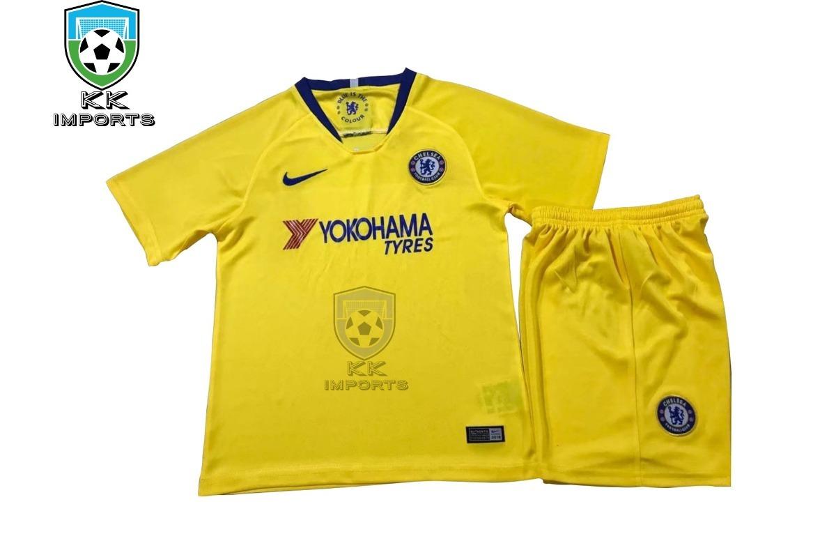 Características. Marca Nike  Time Chelsea  Tipo de camisa Infantil ... 223e92878532e