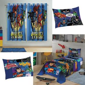 58487bc58e Lencol E Cortina Do Batman no Mercado Livre Brasil