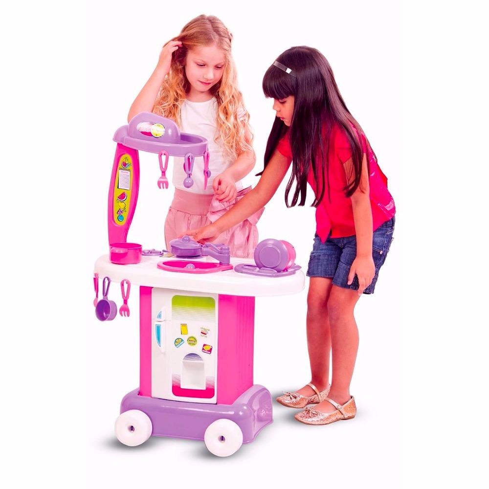 Kit Infantil Cozinha Fog O Geladeira Completa Original R 39 99 Em