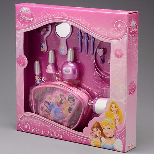kit infantil de beleza princesas disney rosita.