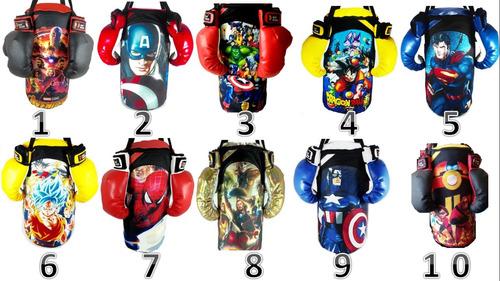 kit infantil de boxeo  + par de guantes