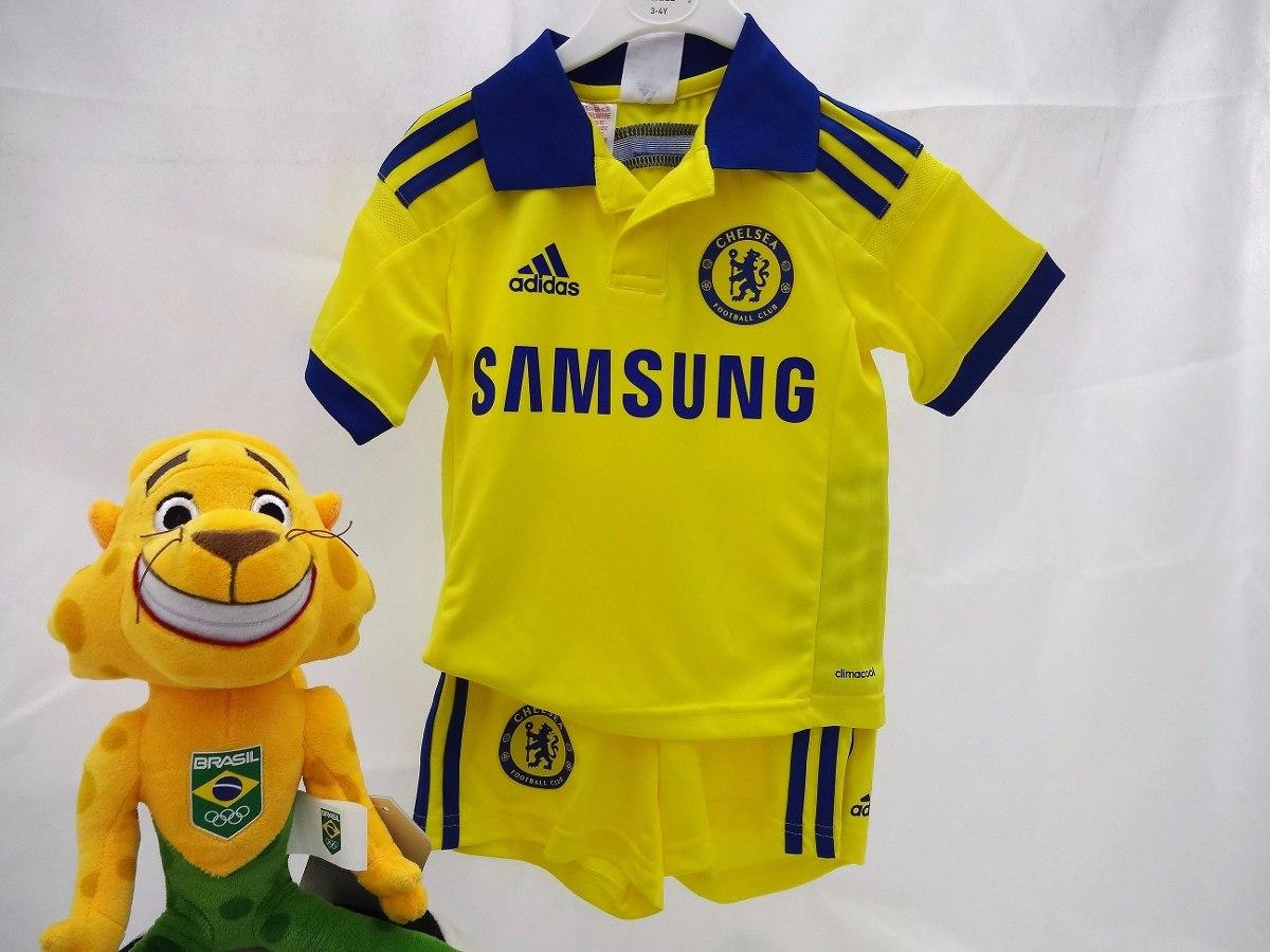 kit infantil de futebol chelsea inglaterra oficial adidas. Carregando zoom. 79e8a6fc8511b