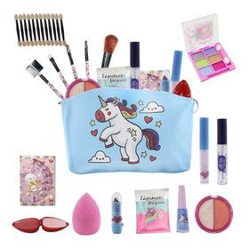 Kit Infantil De Maquiagens E Itens De Beleza Para Maletabz81