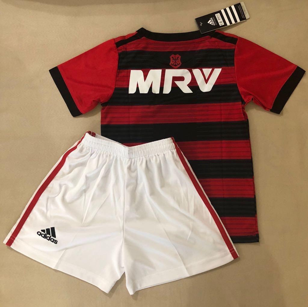 Kit Infantil Flamengo 18 19 Lançamento - R  139 da503301fc4