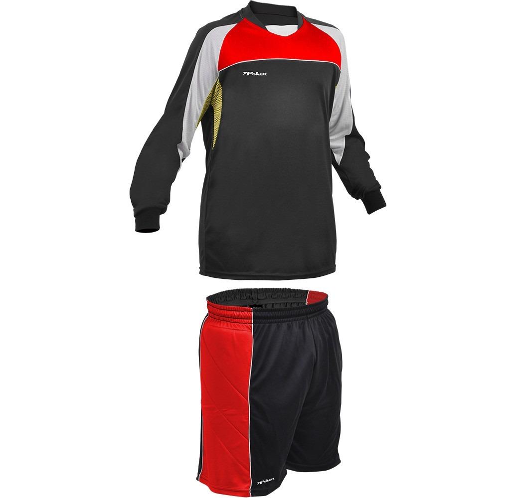 kit infantil goleiro poker escócia - camisa   bermuda   meia. Carregando  zoom. 576f2774d6c77
