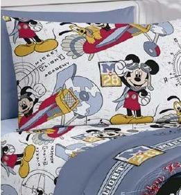 693ff0563f Kit Infantil Jogo Cama Disney Mickey 3 Pçs + Quebra Cabeça - R  105 ...