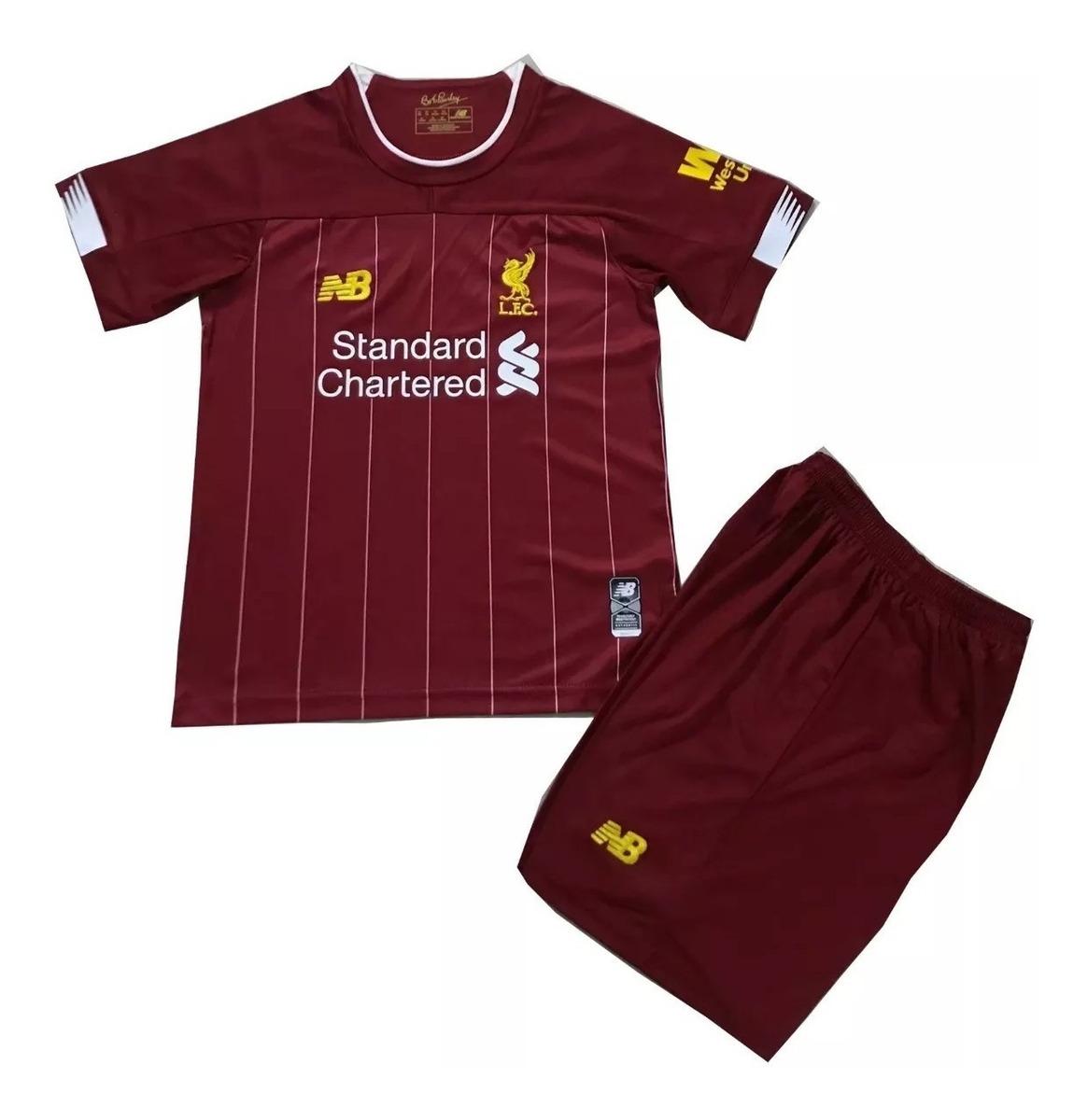 750eed7377 Kit Infantil Liverpool 2019/2020 - Pronta Entrega - R$ 149,99 em ...