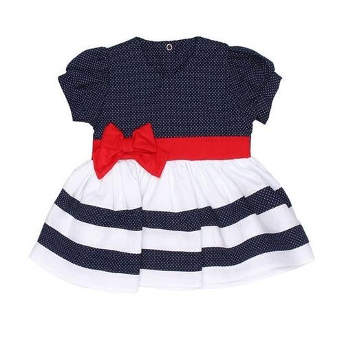 kit infantil menina com o4 vestidos bolinha