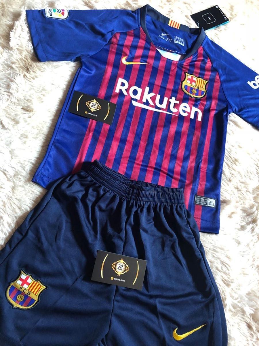 kit infantil oficial do barcelona 2018 19 - mega promoção. Carregando zoom. 62864b35d090c