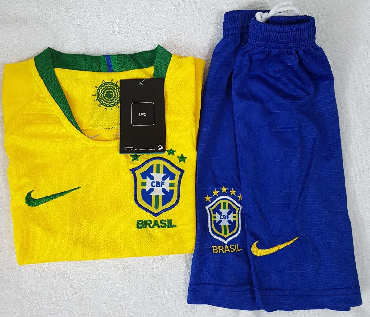 kit infantil original brasil 2018 (home). Carregando zoom. c0631a90cb247