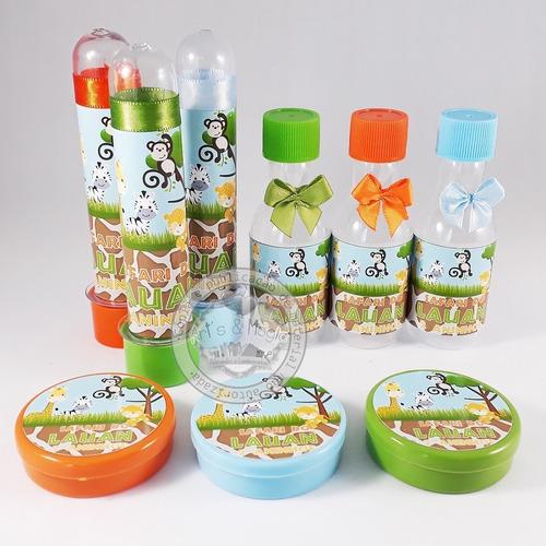 kit infantil personalizado safari varios temas