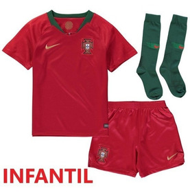 Kit Infantil Portugal - Uniforme 1 Ou 2