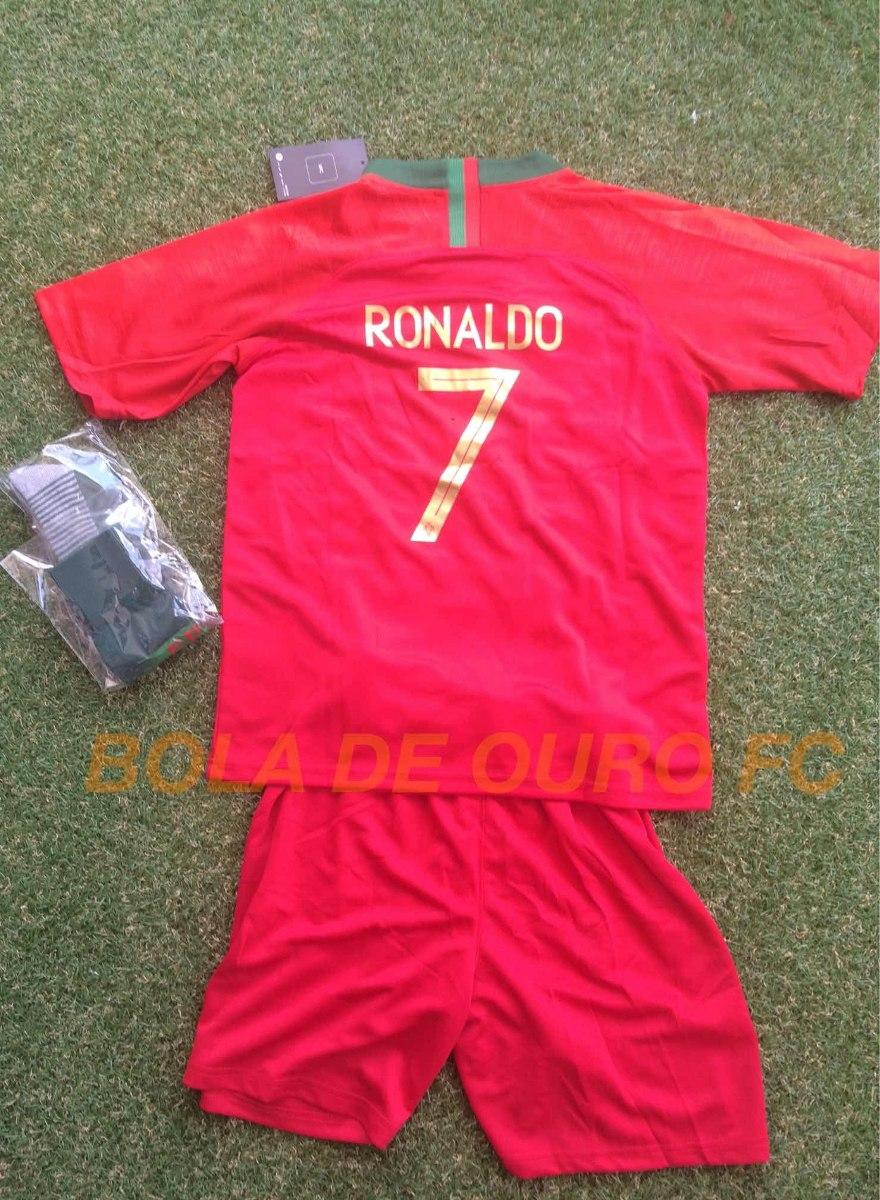 14c59c526a3cc kit infantil portugal - uniforme 1 ou 2. Carregando zoom.