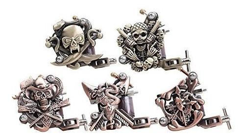 kit inicial completo para tatuajes. 9 maquinas. 50 agujas.