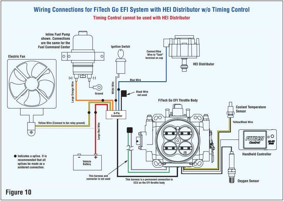 Fitech Wiring Diagram Hei Connection. . Wiring Diagram on