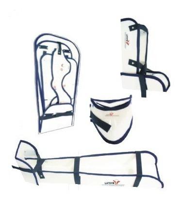 kit inmovilizadores cartonplast cuello pierna brazo tobillo