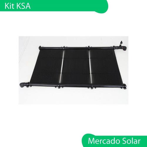 kit instalación climatización solar de piscinas ksd conexion
