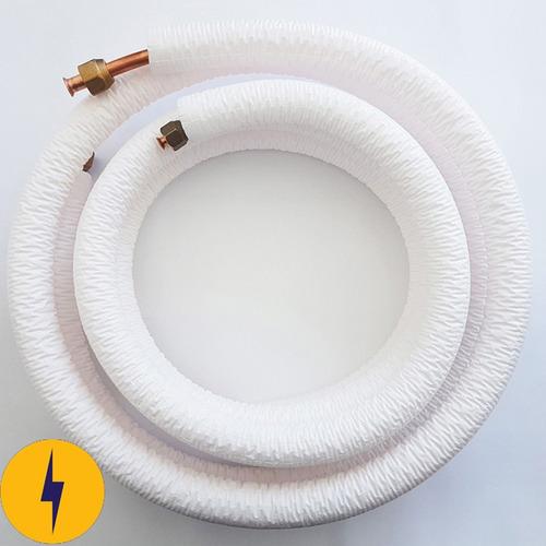 kit instalação ar condicionado 9.000btus tubo cobre 5 metros