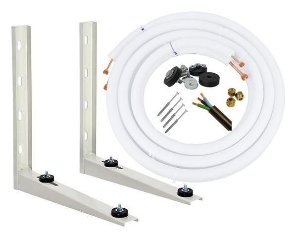 9e533e16d Kit Instalação Ar Split 12000 18000 Btus 2 Metros - R  189