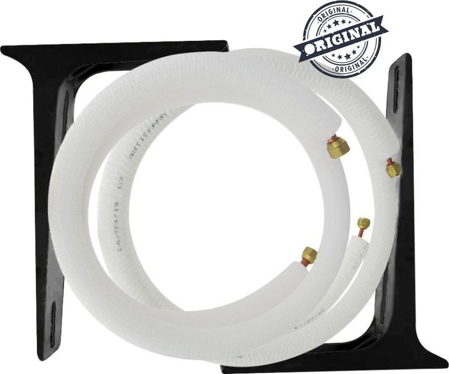 28d48d7c4 kit instalação cobre - ar condicionado split 12.000btus 3m. Carregando zoom.