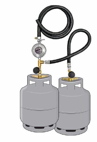 kit instalação gás 2 p13 glp residencial c/ regulador
